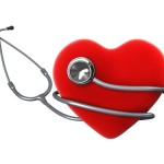 Image of Heart with Stethoscope
